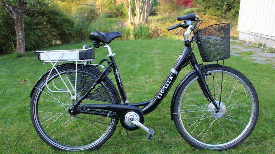 Het genot van de elektrische fiets